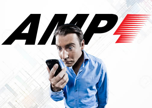 AMP acelerated mobile page