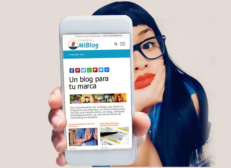 un blog para tu marca
