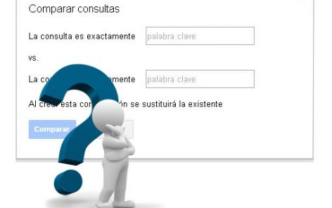 Como comparar consultas de búsqueda con Search console
