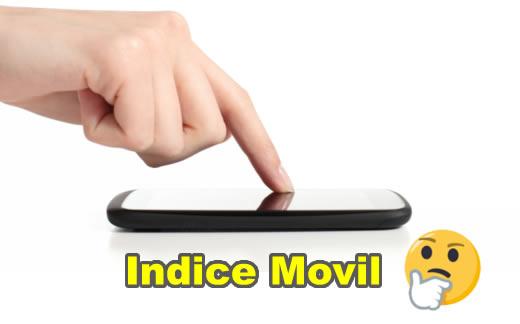 Indexación centrada en móviles? (First-index mobile)
